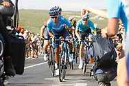 Nairo Quintana (COL - Movistar), during the UCI World Tour, Tour of Spain (Vuelta) 2018, Stage 9, Talavera de la Reina - La Covatilla 200,8 km in Spain, on September 3rd, 2018 - Photo Luca Bettini / BettiniPhoto / ProSportsImages / DPPI