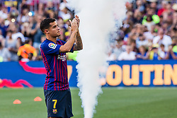 August 15, 2018 - Philippe Coutinho from Brasil during the Joan Gamper trophy game between FC Barcelona and CA Boca Juniors in Camp Nou Stadium at Barcelona, on 15 of August of 2018, Spain. (Credit Image: © AFP7 via ZUMA Wire)