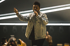 The Weeknd performs at the London O2 Arena 8 Mar 2017