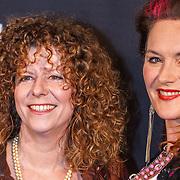 NLD/Amsterdam/20160211 - Premiere HBO Vinyl, Margot Ros en Maaike Maijer en partners