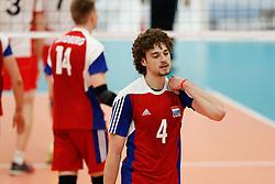 20170525 NED: 2018 FIVB Volleyball World Championship qualification, Koog aan de Zaan<br />Kamil Rychlicki (4) of Luxembourg<br />©2017-FotoHoogendoorn.nl / Pim Waslander