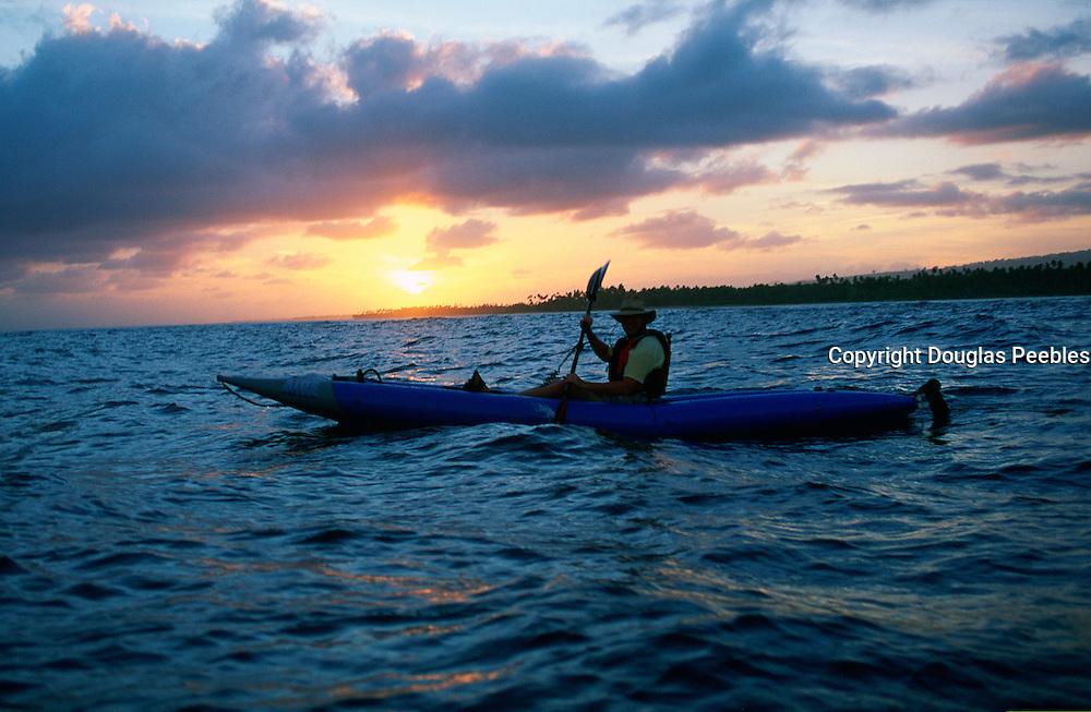 Kayaking, Upolu, Samoa<br />