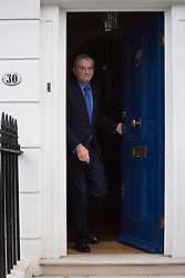 © licensed to London News Pictures. London, UK 16/10/2012. Andrew Mitchell leaving his house in Islington, London on 16/10/12. Photo credit: Tolga Akmen/LNP