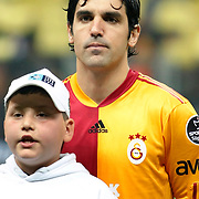 Galatasaray's Juan Emmanuel CULIO during their Turkish superleague soccer derby match Galatasaray between Fenerbahce at the Turk Telekom Arena in Istanbul Turkey on Friday, 18 March 2011. Photo by TURKPIX