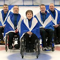 British Curling World Wheelchair Team 2019