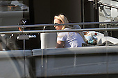 Lewis Hamilton and Lindsey Vonn in Barcelona