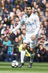 April 8, 2018 - Madrid, Spain - Mateo Kovacic (midfielder; Real Madrid) in action during La Liga match between Real Madrid and Atletico de Madrid at Santiago Bernabeu on April 8, 2018 in Madrid, Spain (Credit Image: © Jack Abuin via ZUMA Wire)