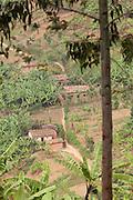 A small village near Parc National Des Volcans, Rwanda