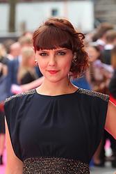 © Licensed to London News Pictures. 11/06/2014, UK. Annabel Scholey, Walking On Sunshine - World Film Premiere, Vue West End Leicester Square, London UK, 11 June 2014. Photo credit : Richard Goldschmidt/Piqtured/LNP