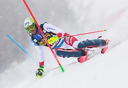 Ramon Zenhaeusern during 1st run of Men's Slalom race of FIS Alpine Ski World Cup 57th Vitranc Cup 2018, on March 4, 2018 in Kranjska Gora, Slovenia. Photo by Urban Meglič / Sportida