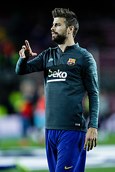 November 5, 2019, Barcelona, BARCELONA, Spain: 03 Gerard Pique from Spain of FC Barcelona during the UEFA Champions League match between FC Barcelona and Slavia Praga in Camp Nou Stadium in Barcelona 05 of November of 2019, Spain. (Credit Image: © AFP7 via ZUMA Wire)