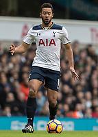 Football - 2016 / 2017 Premier League - Tottenham Hotspur vs. Stoke City<br /> <br /> Mousa Dembele of Tottenham  at White Hart Lane.<br /> <br /> COLORSPORT/DANIEL BEARHAM