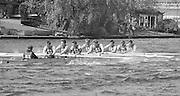 Kingston on Thames, United Kingdom.  M8+. Tideway Scullers School.   The final Round of the Leyland Daf Sprint series, at Kingston RC on the River Thames, Surrey, England, <br /> <br /> Saturday 04.05.1987<br /> <br /> [Mandatory Credit; Peter Spurrier/Intersport-images] 1987 Leyland Daf Sprints, Kingston. UK