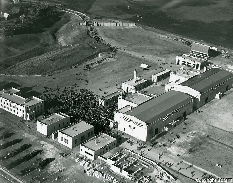 1928 Aerial photo of Fox Hill Studios?