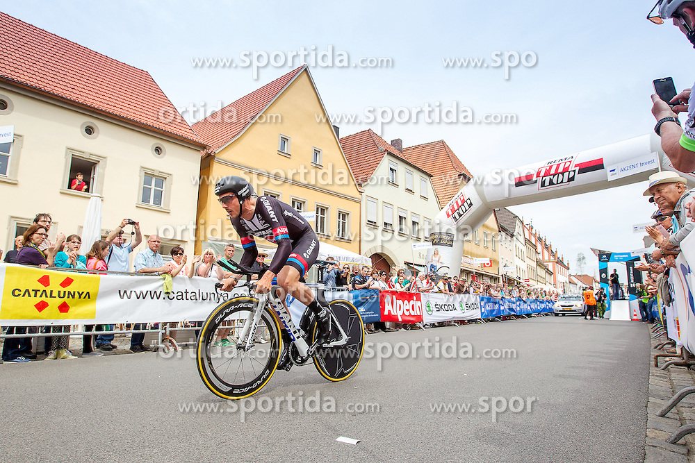 Radsport: 36. Bayern Rundfahrt 2015 / 4. Etappe, Zeitfahren, Hassfurt, 16.05.2015<br /> Cycling: 36th Tour of Bavaria 2015 / Stage 4, <br /> time trial, Hassfurt, 16.05.2015<br /> # 51 Degenkolb, John (GER, TEAM GIANT - ALPECIN)
