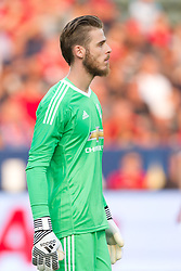 July 15, 2017 - Carson, California, U.S - Manchester United GK David De Gea (1) during the summer friendly between Manchester United and the Los Angeles Galaxy at the StubHub Center. (Credit Image: © Brandon Parry via ZUMA Wire)