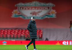 LIVERPOOL, ENGLAND - Sunday, December 27, 2020: Liverpool's manager Jürgen Klopp after the FA Premier League match between Liverpool FC and West Bromwich Albion FC at Anfield. The game ended in a 1-1 draw. (Pic by David Rawcliffe/Propaganda)