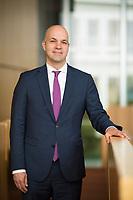 DEU, Deutschland, Germany, Berlin, 02.05.2019: Portrait von Prof. Marcel Fratzscher, Präsident des Deutschen Institutes für Wirtschaftsforschung (DIW).