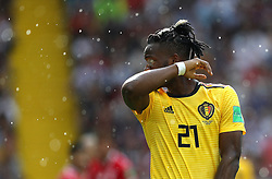 June 23, 2018 - Moscou, Rússia - MOSCOU, MO - 23.06.2018: BÉLGICA Y TÚNEZ - Michy BATSHUAYI from Belgium during the match between Belgium and Tunisia valid for the 2018 World Cup held at the Otkrytie Arena (Spartak) in Moscow, Russia. (Credit Image: © Rodolfo Buhrer/Fotoarena via ZUMA Press)