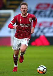 Cauley Woodrow of Bristol City - Mandatory by-line: Robbie Stephenson/JMP - 06/01/2018 - FOOTBALL - Vicarage Road - Watford, England - Watford v Bristol City - Emirates FA Cup third round proper