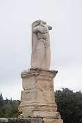 Statue of Triton at the Odeion of Agrippa (AKA the palace of the Giants), Agora, Athens, Greece