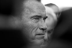 09.01.2017, St. Veit, Graz, AUT, Arnold Schwarzenegger, im Bild Der Österreichische Schauspieler und ehem. Politiker Arnold Schwarzenegger anl. des Begräbnisses des Steirischen Alt-Landeshauptmanns Josef Krainer // Austrian actor and former governer of California, Arnold Schwarzenegger, during a funeral of former Styrian governer Josef Krainer at the church of St. Veit, Graz, Austria on 2017/01/09, EXPA Pictures © 2017, PhotoCredit: EXPA/ Erwin Scheriau