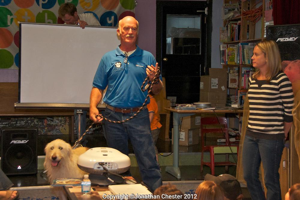 Dog is My Co-Pilot Book Launch, June 2, 2012. Author Patrick Regan