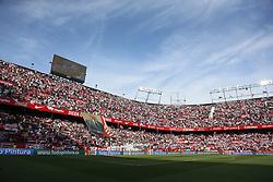 February 23, 2019 - Sevilla, Madrid, Spain - General view of the Estadio Sanchez Pizjuan before the La Liga match between Sevilla FC and Futbol Club Barcelona in Seville, Spain. (Credit Image: © Manu Reino/SOPA Images via ZUMA Wire)