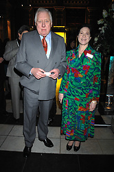 LORD HATTERSLEY and MAGGIE PEARLSTINE at the Orion Publishing Groups Authors party held at the V&A museum, Cromwell Road, London on 15th February 2007.<br /><br />NON EXCLUSIVE - WORLD RIGHTS