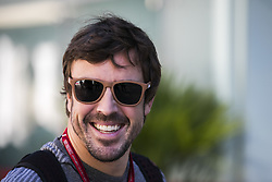 November 12, 2017 - Sao Paulo, Sao Paulo, Brazil - Nov, 2017 - Sao Paulo, Sao Paulo, Brazil - FERNANDO ALONSO, McLaren Honda driver. It happens on Sunday (12) the Brazilian Grand Prix of Formula One, in the autodromo track of Interlagos in Sao Paulo. (Credit Image: © Marcelo Chello via ZUMA Wire)