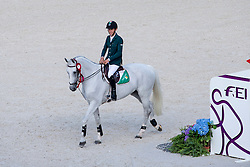 Bertram Allen and Molly Malone V winner of the Individual Competition Jumping Speed - Alltech FEI World Equestrian Games™ 2014 - Normandy, France.<br /> © Hippo Foto Team - Leanjo De Koster<br /> 02-09-14