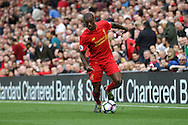 Georginio Wijnaldum of Liverpool in action. Premier League match, Liverpool v Hull City at the Anfield stadium in Liverpool, Merseyside on Saturday 24th September 2016.<br /> pic by Chris Stading, Andrew Orchard sports photography.