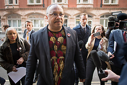 File photo dated 25/04/18 of Labour activist Marc Wadsworth who has been expelled from the party after launching a verbal attack on MP Ruth Smeeth at the launch of a party report into anti-Semitism.