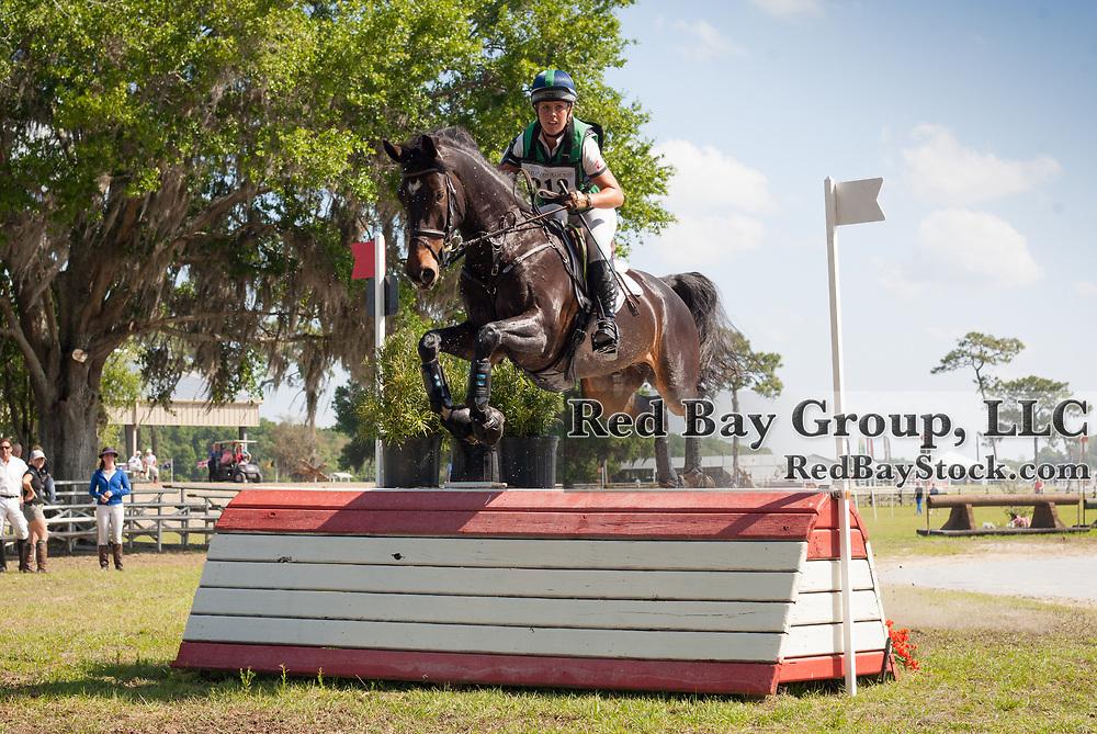 Kylie Lyman and Glynnwood Mer Calido at the Ocala International in Ocala, Florida.