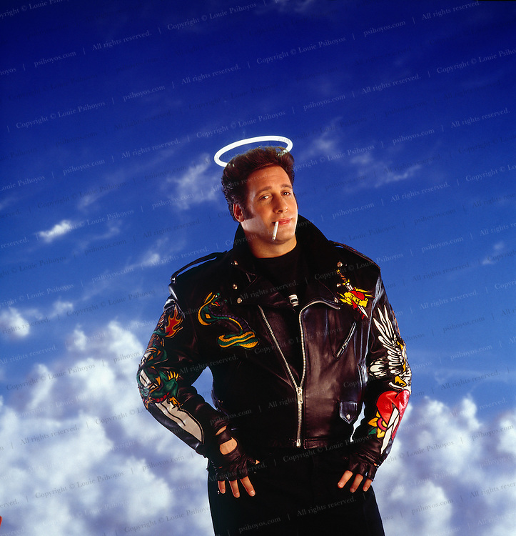 Andrew Dice Clay as an Angel.