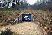Nederland, Garderen, 12-12-2007Een grafheuvel uit de klokbekercultuur. Dateert van ongeveer 2700 tot 2100 voor Christus, dat wil zeggen het late Neolithicum tot aan het begin van de kopertijd. Foto: Flip Franssen/Hollandse Hoogte