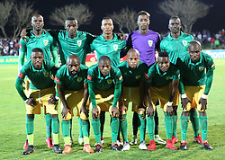17032018 (Durban)  Golden Arrows team players when Orlando Pirates walloped Golden Arrows 2-1 at the ABSA premier league encounter at Princess Magogo Staduim, in Kwa-Mashu, Durban. Pirates has advance their league position to number 2 with 41 points after Sundowns with 42 points lead.<br /> Picture: Motshwari Mofokeng/African New Agency/ANA