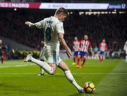 November 18, 2017 - Madrid, Madrid, Spain - Toni Kroos during the match between Atletico de Madrid and Real Madrid, week 12 of La Liga at Wanda Metropolitano stadium, Madrid, SPAIN - 18th November of 2017. (Credit Image: © Jose Breton/NurPhoto via ZUMA Press)