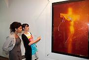 REOUVERTURE DE LA COLLECTION LAMBERT(2011).reouverture de la collection lambert  suite a la destruction de 2 oeuvre de l'artiste andres serrano dimanche 17 avril.