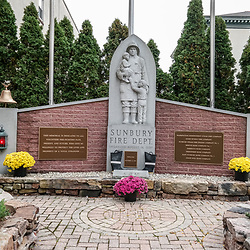 Sunbury Fire Department Memorial in Sunbury, Pennsylvania