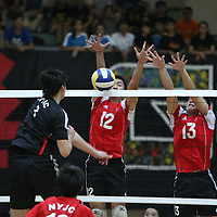 Toa Payoh Sports Hall, Wednesday, May 8, 2013 — Nanyang Junior College (NYJC) took down defending champions Hwa Chong Institution (HCI) in three straight sets (25–22, 25–20, 26–24) to win the final of the National A Division Boys' Volleyball Championship.<br /> <br /> Story: http://www.redsports.sg/2013/05/13/national-a-div-volleyball-boys-nyjc-hci/