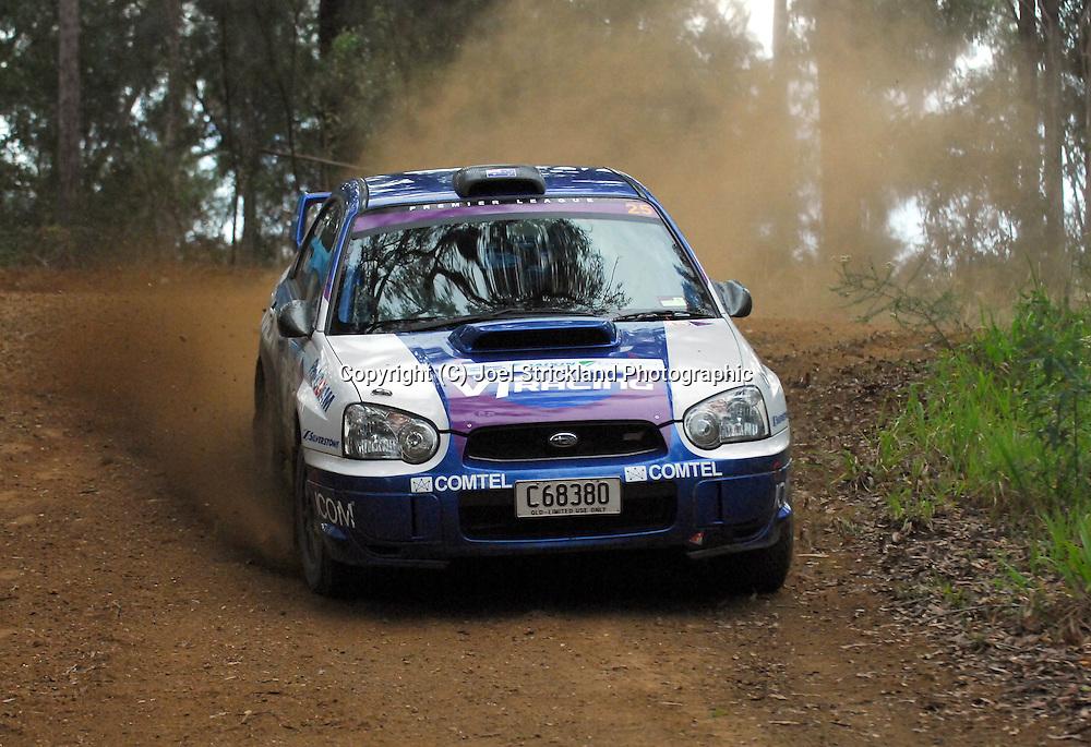 Matt Van Tuinen & John McCarthy.Motorsport-Rally/2008 Coffs Coast Rally.Heat 1.Coffs Harbour, NSW.15th of November 2008.(C) Joel Strickland Photographics