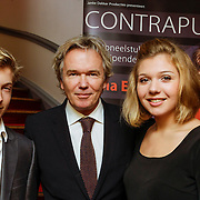 NLD/Leiden/20121021- Premiere Contrapunt,  Tom Egbers en kinderen Rik en Amy