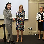 23.05.2018.       <br /> Today, the Institute of Community Health Nursing (ICHN) hosted its2018 community nurseawards in association withHome Instead Senior Care,at its annual nursing conference, in the Strand Hotel Limerick, rewarding public health nurses for their dedication to community care across the country. <br /> <br /> Poster Awards, pictured is recipient Jean Whelan.  Picture: Alan Place