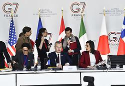 May 5, 2019 - Metz, France - Francois de Rugy et Brune Poirson (Credit Image: © Panoramic via ZUMA Press)
