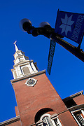 Image of the Park Street Church along the Freedom Trail in Boston, Massachusetts, New England by Randy Wells