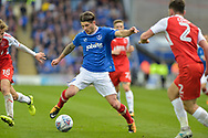 Portsmouth Midfielder, Matty Kennedy (11) during the EFL Sky Bet League 1 match between Portsmouth and Fleetwood Town at Fratton Park, Portsmouth, England on 16 September 2017. Photo by Adam Rivers.
