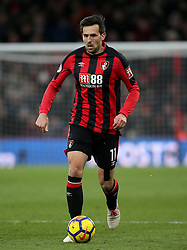 """AFC Bournemouth's Charlie Daniels during the Premier League match at the Vitality Stadium, Bournemouth. PRESS ASSOCIATION Photo. Picture date: Saturday March 17, 2018. See PA story SOCCER Bournemouth. Photo credit should read: Mark Kerton/PA Wire. RESTRICTIONS: EDITORIAL USE ONLY No use with unauthorised audio, video, data, fixture lists, club/league logos or """"live"""" services. Online in-match use limited to 75 images, no video emulation. No use in betting, games or single club/league/player publications."""