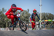 #5 (CHRISTENSEN Simone Tetsche) DEN at round 8 of the 2018 UCI BMX Supercross World Cup in Santiago del Estero, Argentina.