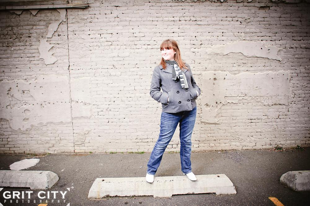 Tacoma senior photographer   Grit City Photography